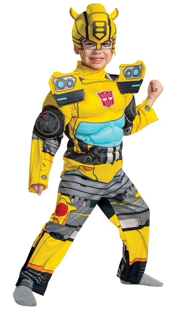 Bumblebee Eg Muscle Toddler Costume 3-4T