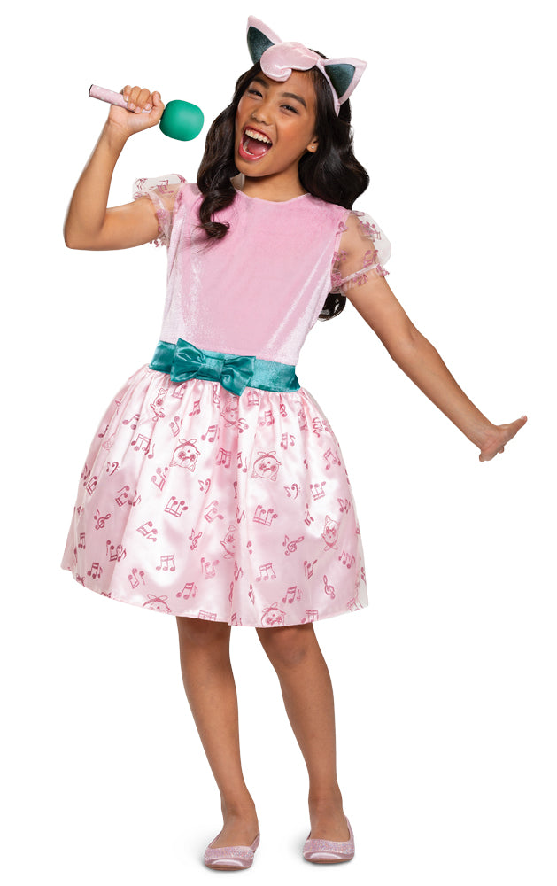 Jigglypuff Girls Costume Sm