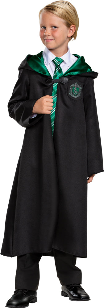 Harry Potter Slytherin Robe Kids Classic Costume Sm