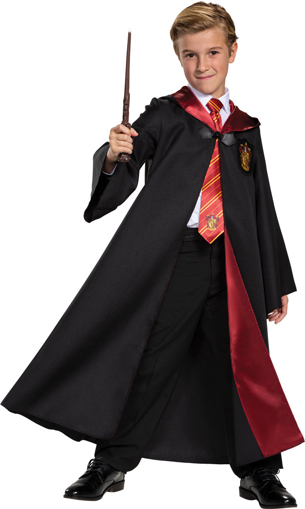 Harry Potter Gryffindor Robe Kids Deluxe Costume Md