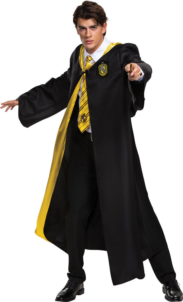 Harry Potter Hufflepuff Robe Adult Deluxe Costume Teen