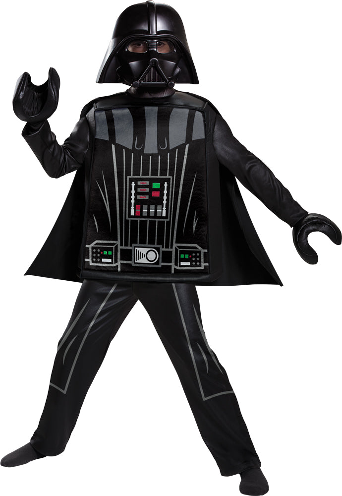 Lego Star Wars Darth Vader Lego Deluxe Boys Costume Sm