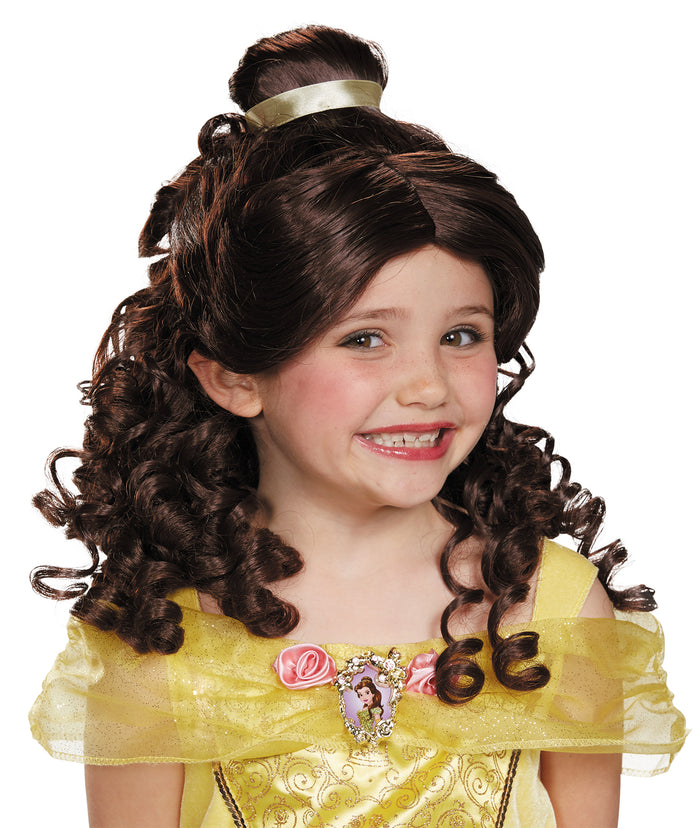 Belle Child Wig, Disney Costume, Fairytale Costume, Halloween Costumes, Holiday Costumes, Royalty & Princess Costume, Wigs & Hair Costume