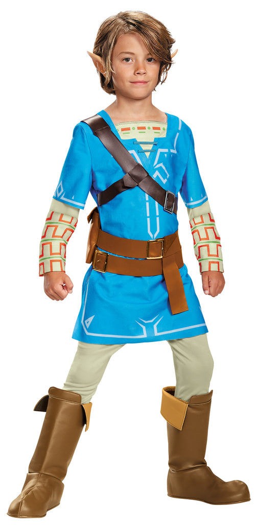 Boy's Costumes, Link Breath Of The Wild Deluxe Boys Costume Large 10-12, Halloween Costumes