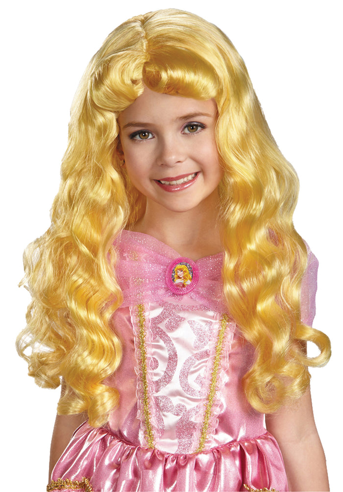 Aurora Child Wig, Fairytale Costume, Halloween Costumes, Maleficent Costume, Royalty & Princess Costume, Wigs & Hair Costume