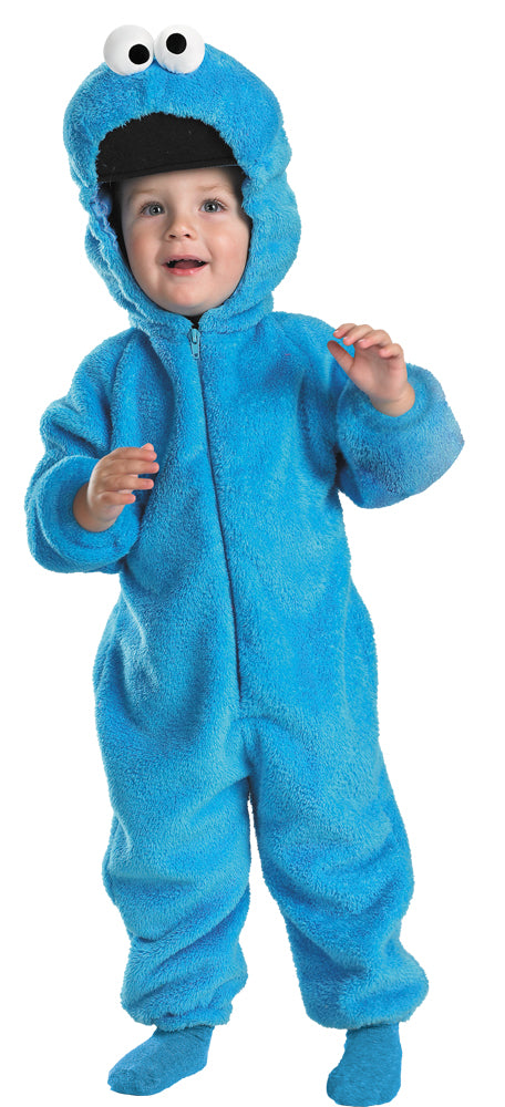 Animal & Insect Costume, Cookie Halloween Costume, Cookie Monster Deluxe Toddler Costume 3T-4T, Halloween Costumes, Sesame Street Costume, Toddler Costumes