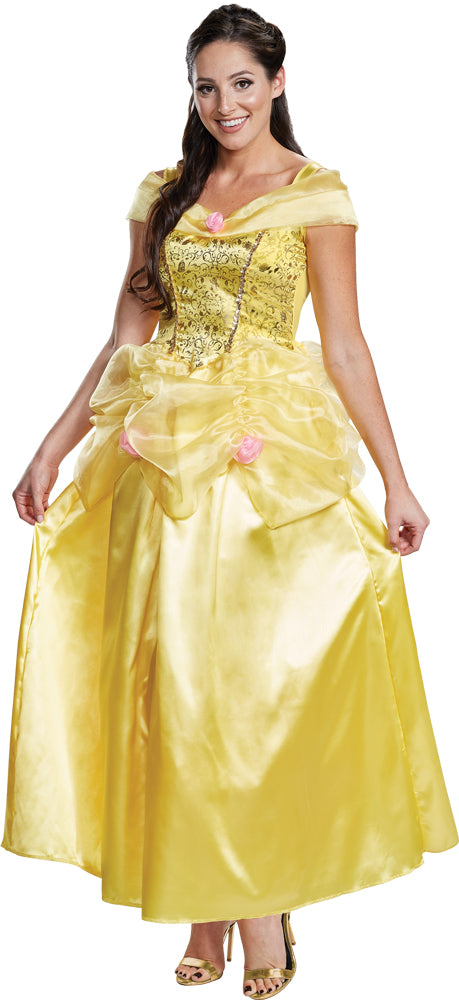 Belle Deluxe Womens Costume Md