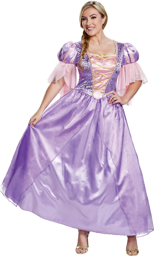Rapunzel Deluxe Womens Costume Md