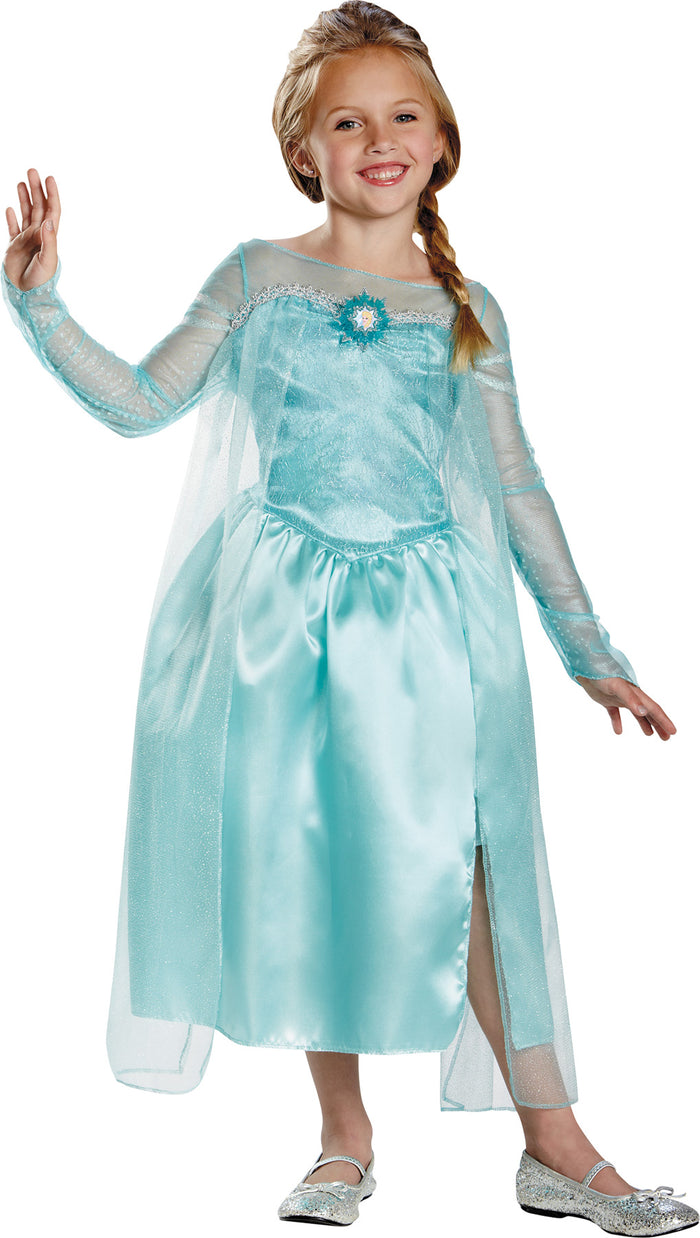Frozen Costume, Royalty & Princess Costume, Fairytale Costume, Girl's Costumes, Frozen Elsa Snow Queen Kids Costume Medium 7-8, Halloween Costumes