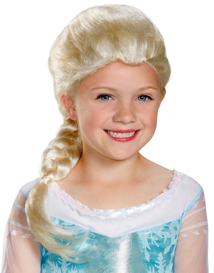 Frozen Costume, Frozen Elsa Child Wig, Halloween Costumes, Wigs & Hair Costume