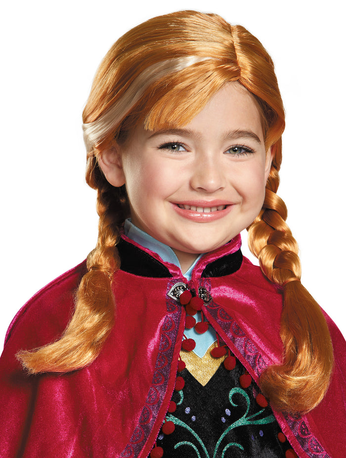 Fairytale Costume, Frozen Anna Child Wig, Frozen Costume, Halloween Costumes, Royalty & Princess Costume, Wigs & Hair Costume