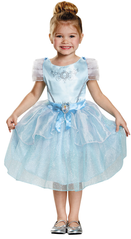 Cinderella Kids Costume Classic 4-6, Disney Costume, Fairytale Costume, Girl's Costumes, Halloween Costumes, Royalty & Princess Costume
