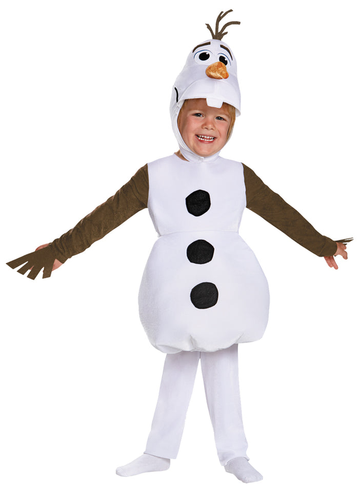 Frozen Costume, Boy's Costumes, Frozen Olaf Classic Boys Costume Small 4-6, Halloween Costumes