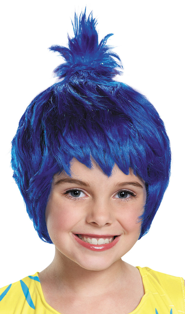 Disney Costume, Halloween Costumes, Joy Child Costume Wig, Wigs & Hair Costume