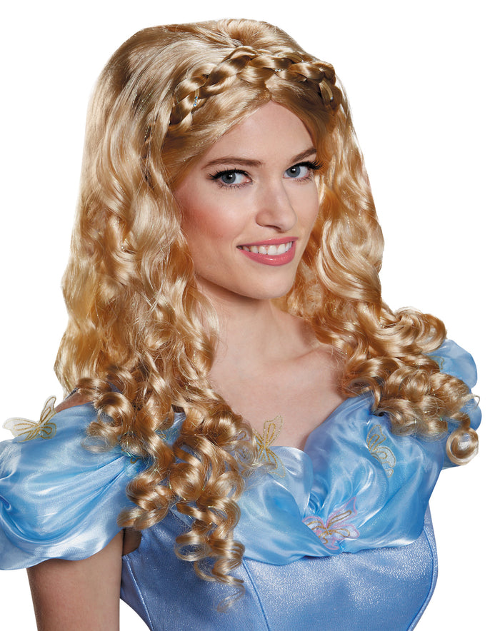 Cinderella Movie Adult Costume Wig, Disney Costume, Fairytale Costume, Halloween Costumes, Royalty & Princess Costume, Wigs & Hair Costume