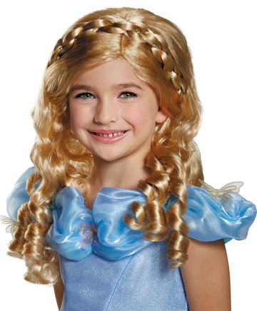 Cinderella Movie Child Costume Wig, Disney Costume, Fairytale Costume, Halloween Costumes, Royalty & Princess Costume, Wigs & Hair Costume