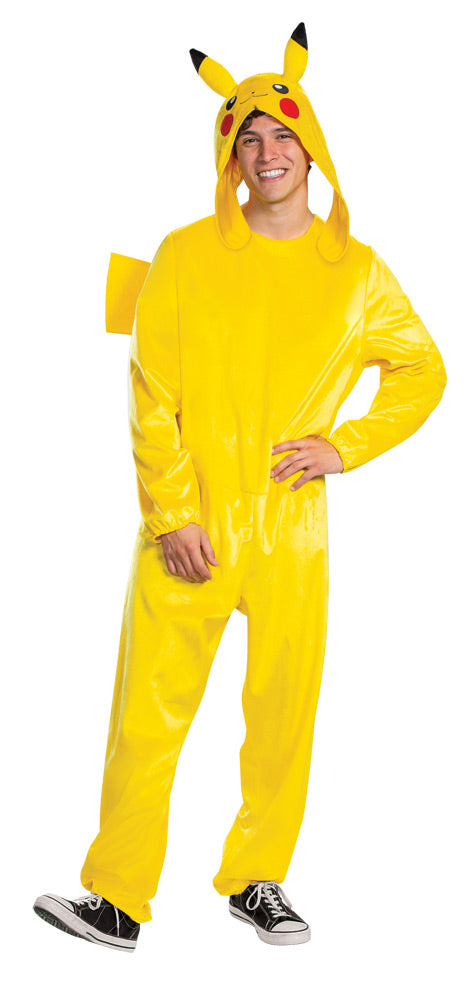 Pikachu Deluxe Mens Costume Sm