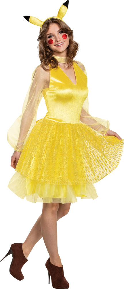 Pikachu Deluxe Womens Costume Sm