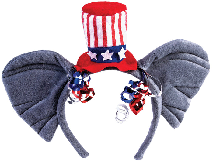 Halloween Costumes, Republican Headband, Wigs & Hair Costume