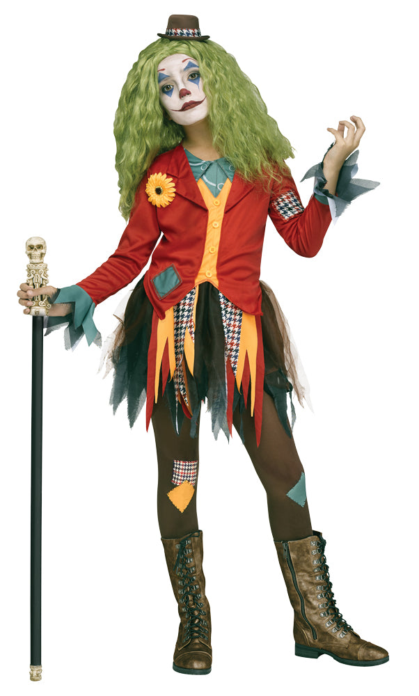 Rowdy Clown Girls Costume Md