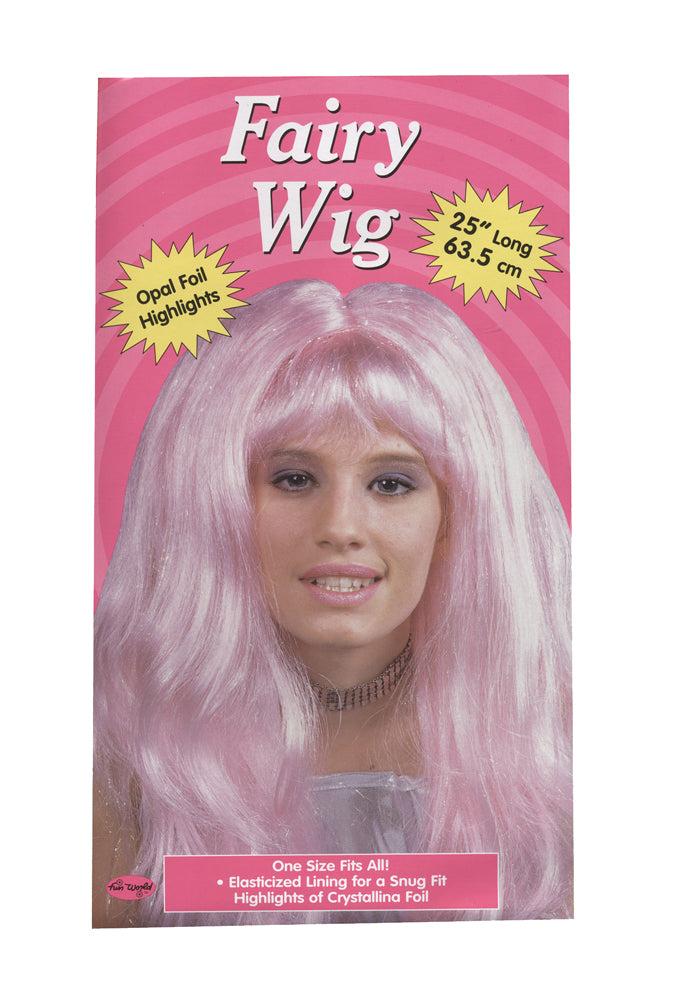 Crystal Wig Pink, Halloween Costumes, white wig, Wigs & Hair Costume