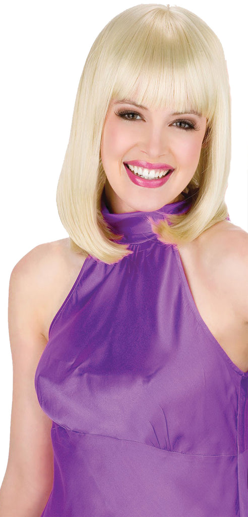 Classic Beauty Wig Blonde, Halloween Costumes, white wig, Wigs & Hair Costume