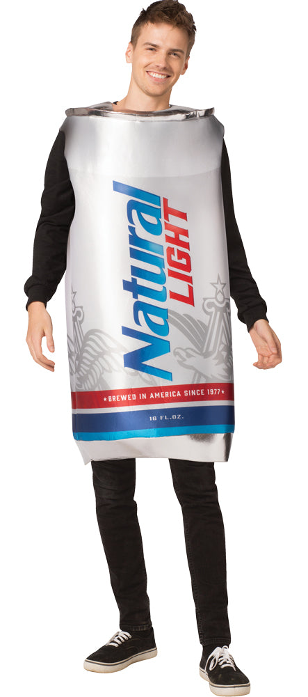 Natural Light Can Mens Costume