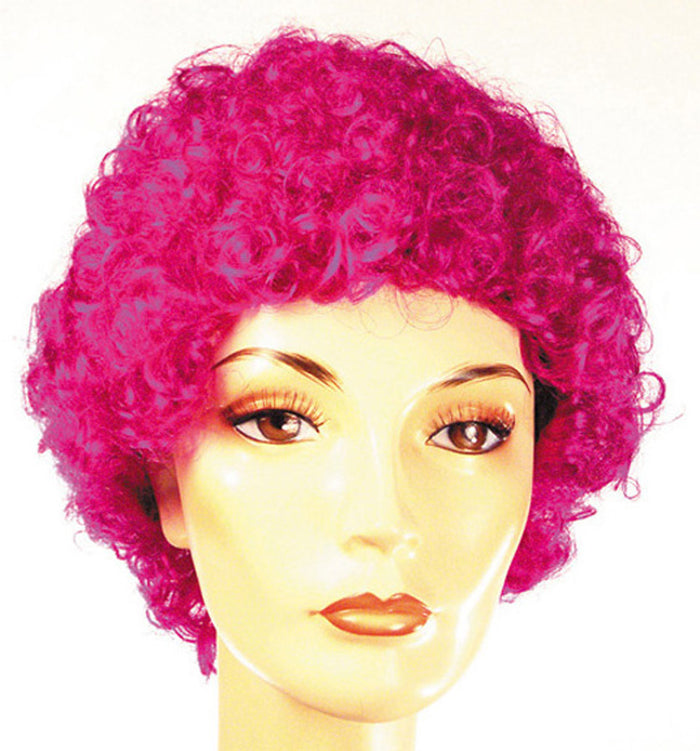 Clown & Mime Costume, Curly Clown Fd Violet Kafm Wig, Halloween Costumes