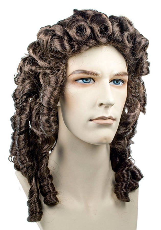 Alonge Dark Grey 44 Wig, Halloween Costumes, Medieval & Renaissance Costume, Wigs & Hair Costume