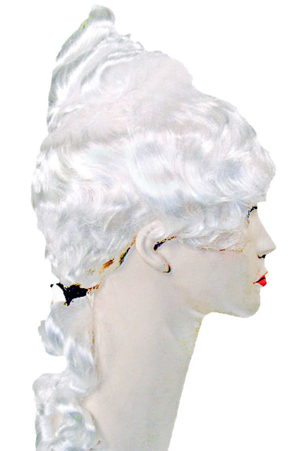 Colonial Lady Special White Wig, Halloween Costumes, Historical Costume, Wigs & Hair Costume
