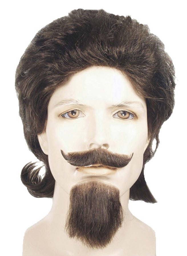 Buffalo Bill Black Wig, Halloween Costumes, Wigs & Hair Costume