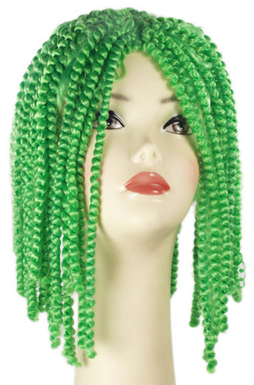 Halloween Costumes, Spring Curl Green Wig, Wigs & Hair Costume