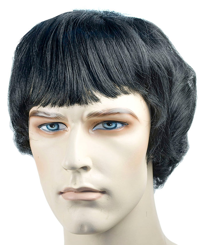 60's - 70's Costume, Beatle Spb Black Wig, Halloween Costumes, Wigs & Hair Costume