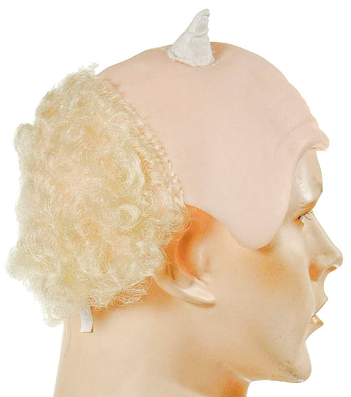 Bald And Horned Wig, Halloween Costumes, Wigs & Hair Costume