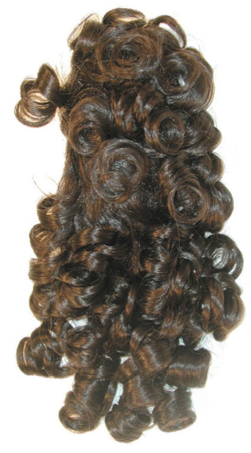Curly Banana Clip Black Wig, Halloween Costumes, Wigs & Hair Costume