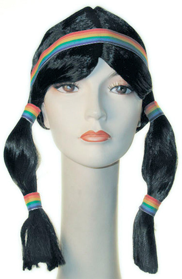 Halloween Costumes, Indian Wig, Wigs & Hair Costume, Wild West & Cowboy Costume