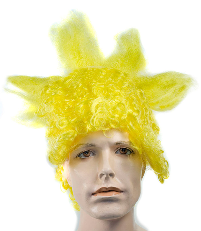 Bart Yellow Wig, Halloween Costumes, The Simpsons Costume