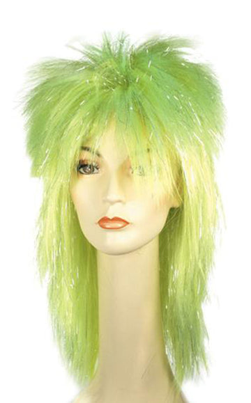 Halloween Costumes, Punk Fright Green Wig, Wigs & Hair Costume