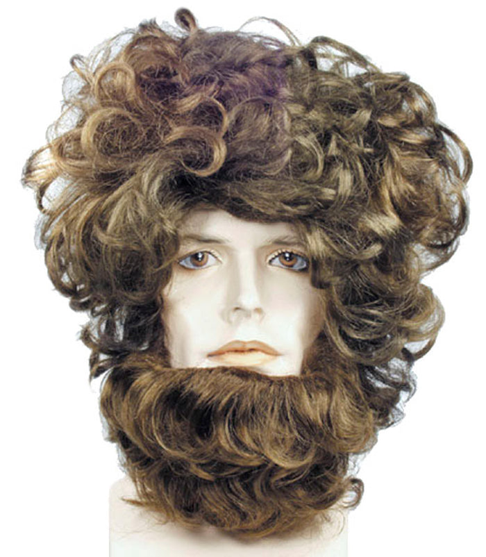 Beast Set Brown Wig, Costume Makeup Costume, Halloween Costumes, Wigs & Hair Costume