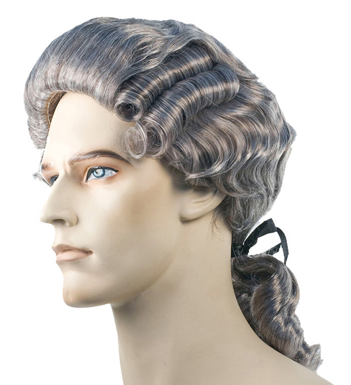 Colonial Man Disc Auburn 308 Wig, Halloween Costumes, Historical Costume, Wigs & Hair Costume