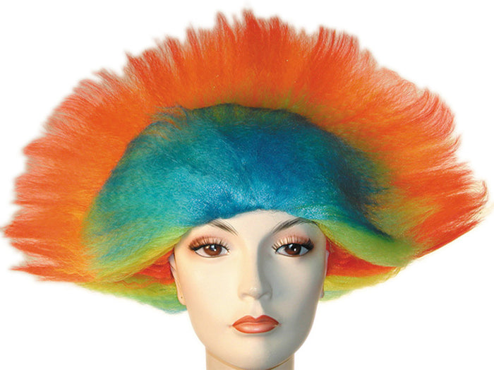 Awesome Rainbow Wig, Halloween Costumes, Wigs & Hair Costume