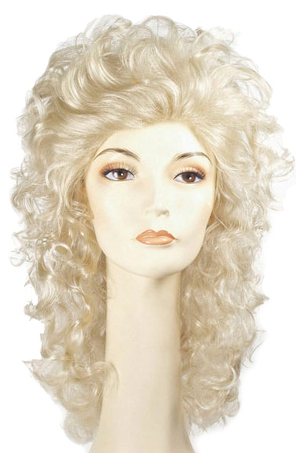 Halloween Costumes, Showgirl Wavy Champagne Blonde Wig, Wigs & Hair Costume