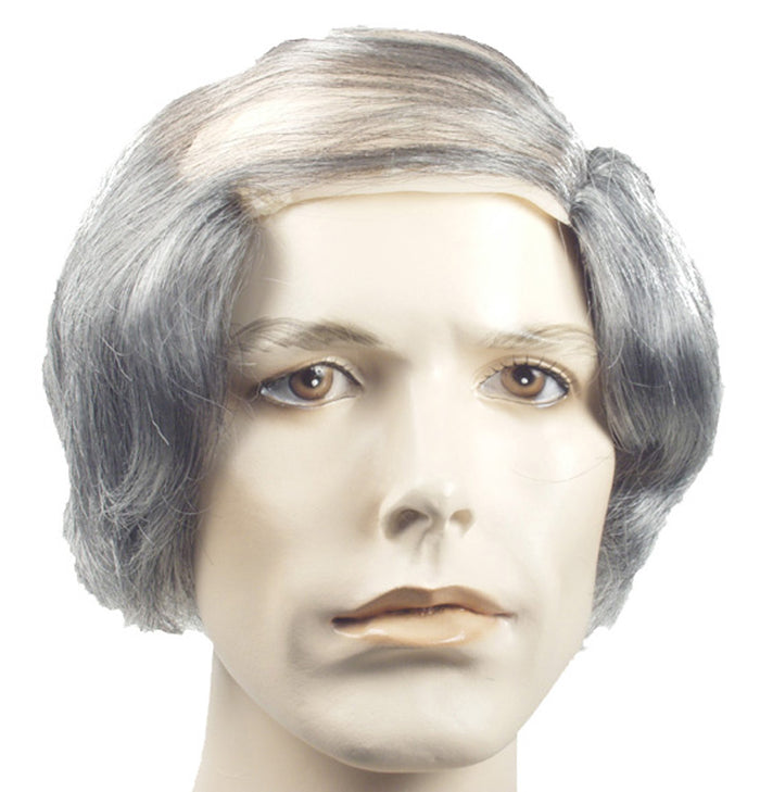 Bald Comb Over Grey Wig, Halloween Costumes, Wigs & Hair Costume
