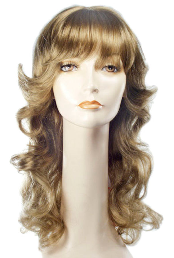 60's - 70's Costume, Angel Farrah Dark Auburn 350 Wig, Halloween Costumes, Wigs & Hair Costume