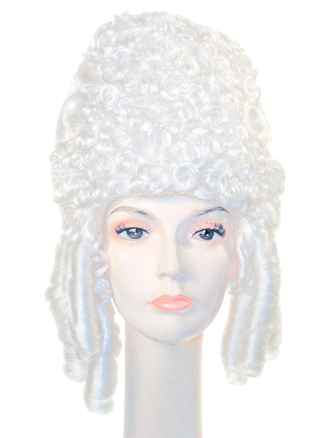Halloween Costumes, Historical Costume, Marie Antoinette Deluxe White Wig, Wigs & Hair Costume