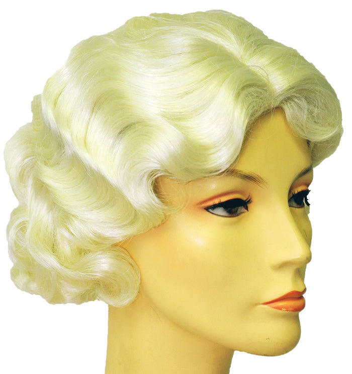 50's Costume, Halloween Costumes, Marilyn X Lite Blonde Wig, Wigs & Hair Costume