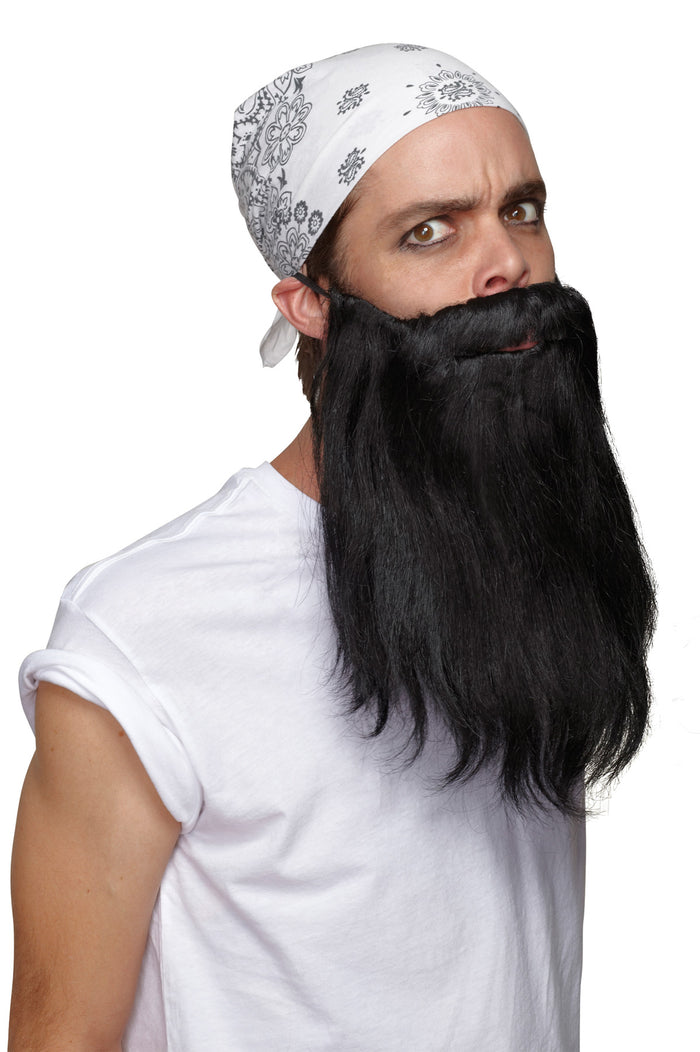 Beard Basic Black, Halloween Costumes, Mustache & Beards Costume