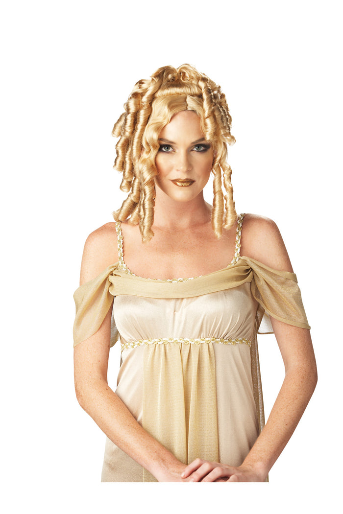 Goddess Wig Blonde, Greek & Roman Costume, Halloween Costumes, white wig, Wigs & Hair Costume