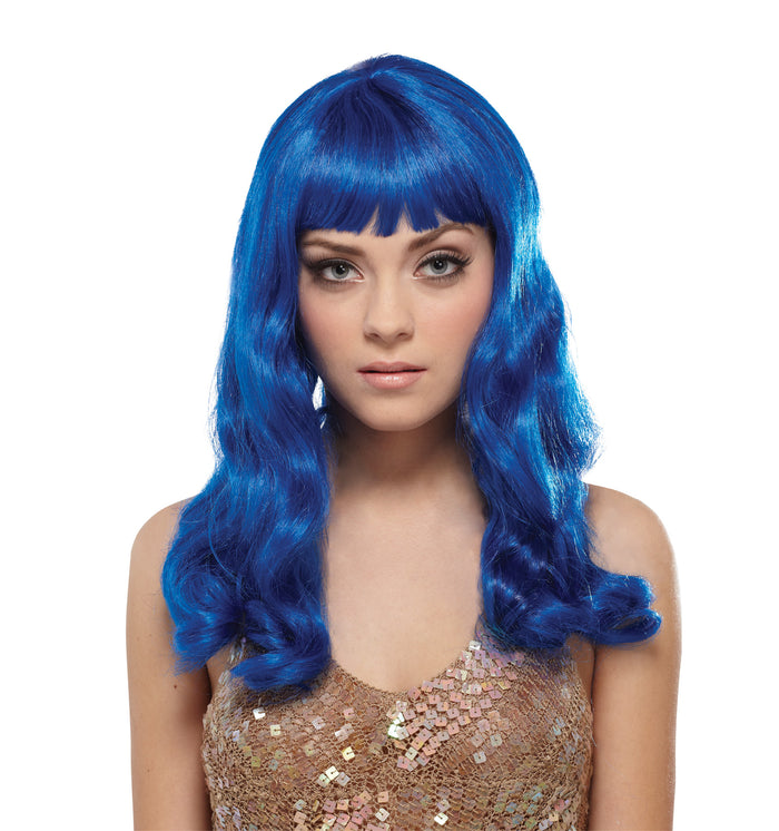 California Blue Wig, Halloween Costumes, white wig, Wigs & Hair Costume