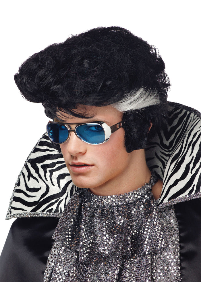 Halloween Costumes, white wig, Wig Vegas Elvis, Wigs & Hair Costume